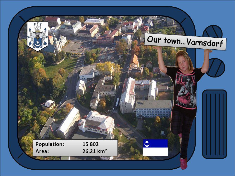 Population:15 802 Area:26,21 km 2 Population:15 802 Area:26,21 km 2
