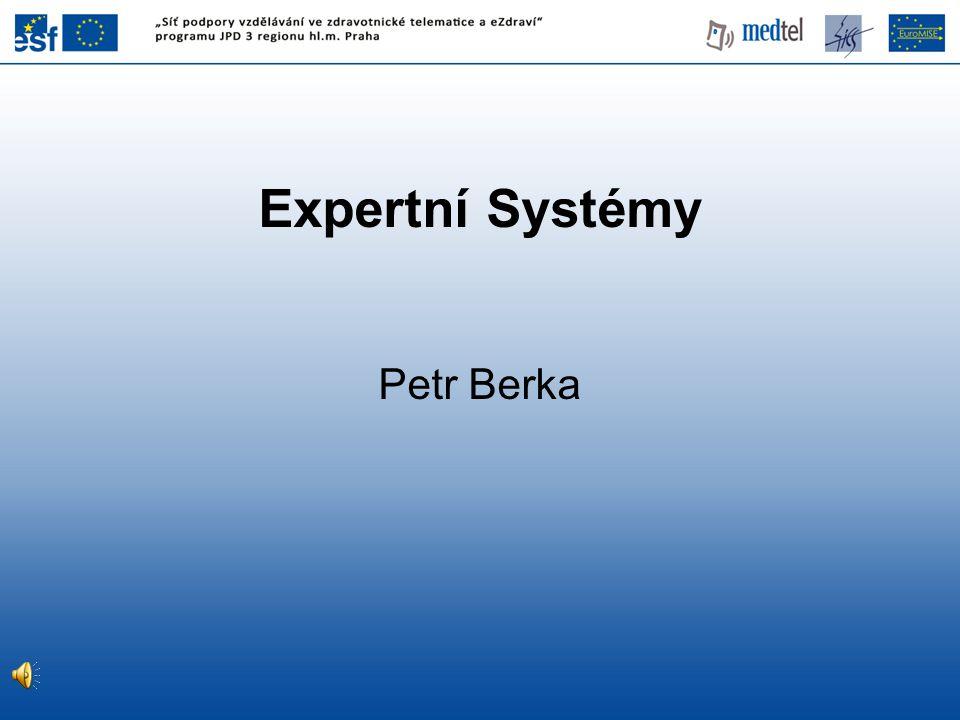 Expertní Systémy Petr Berka