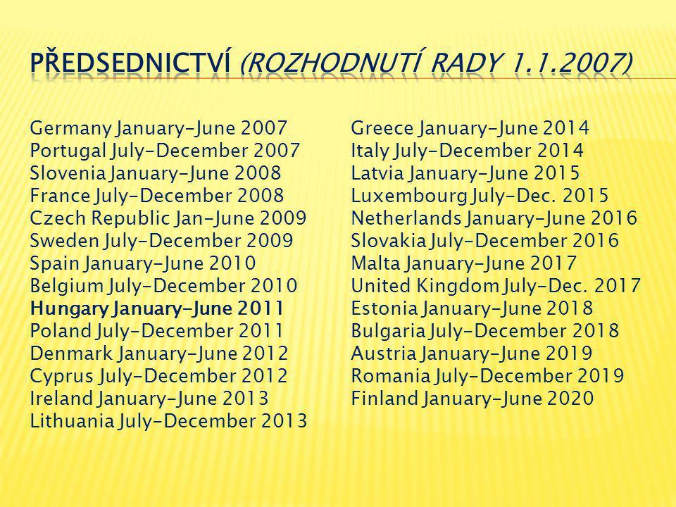 1.HU PRES 1.pol.2011 2. Vzdělávání (charakteristika) 3.