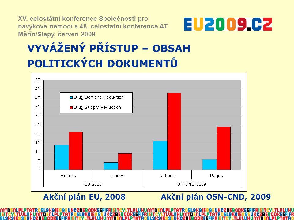 VYVÁŽENÝ PŘÍSTUP – OBSAH POLITICKÝCH DOKUMENTŮ XV.