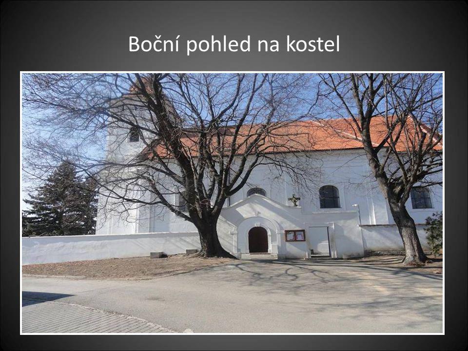 Kostel v Bořeticích-zasvěcený sv. Anně