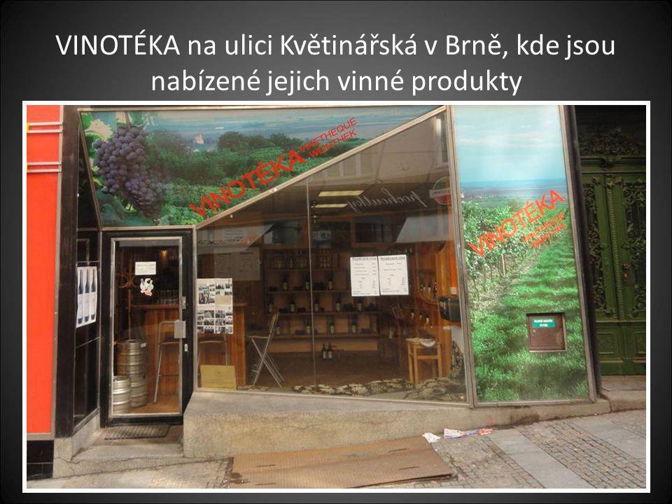 Budova-objekt rodinného vinařství JEDLIČKA a NOVÁK