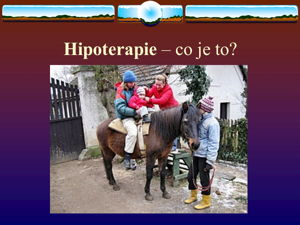 Hipoterapie – co je to?