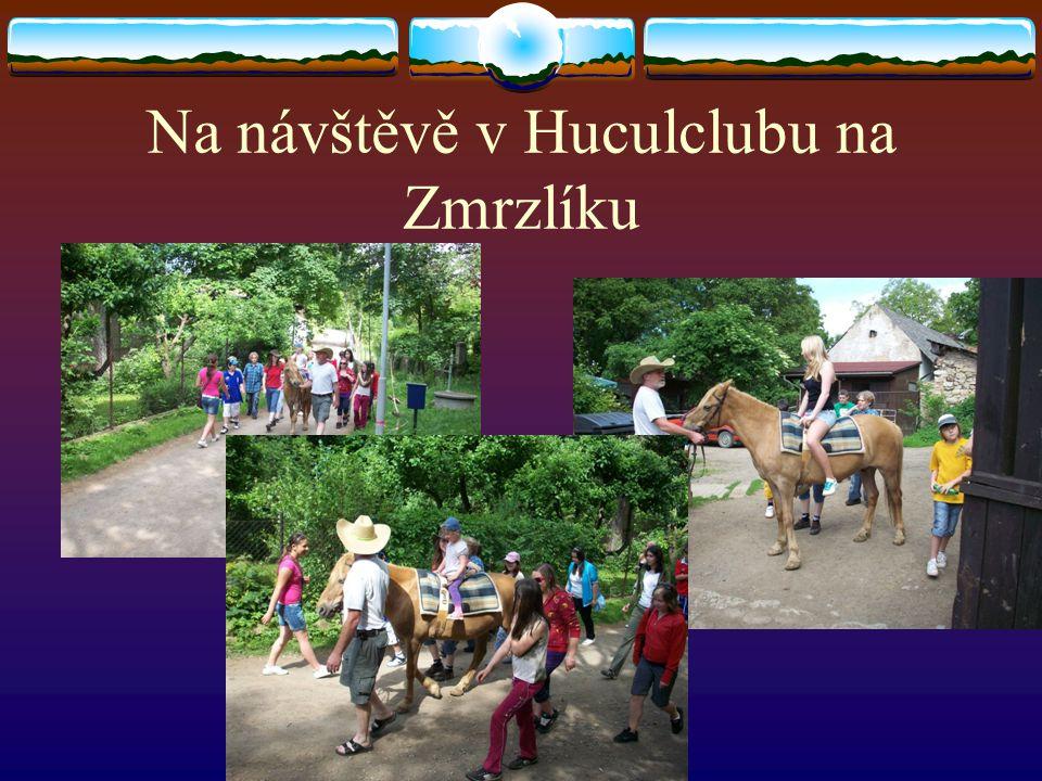 Na návštěvě v Huculclubu na Zmrzlíku