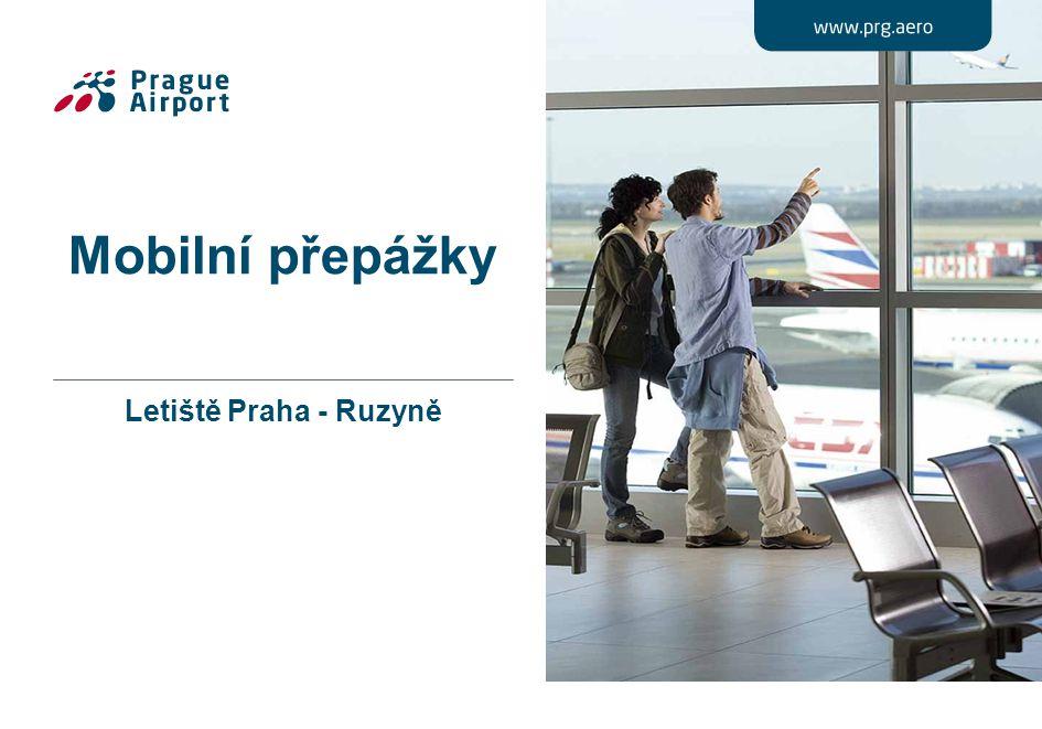 Mobilní přepážky Letiště Praha - Ruzyně
