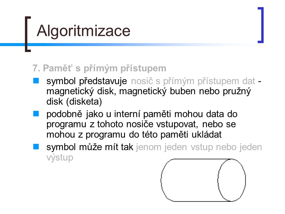 Algoritmizace 7.