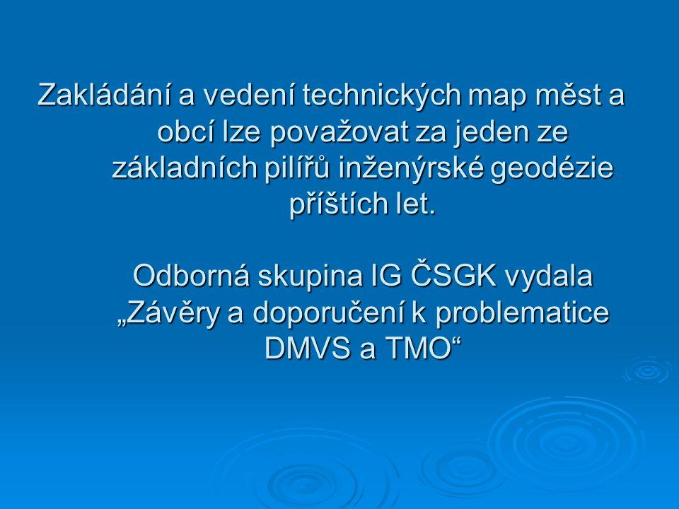 Technická mapa obce Základní definici nalezneme v § 2, písm.