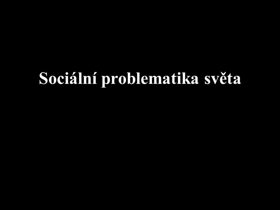 Sociální problematika světa