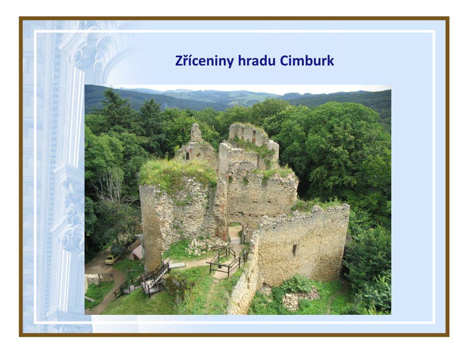 Zříceniny hradu Cimburk
