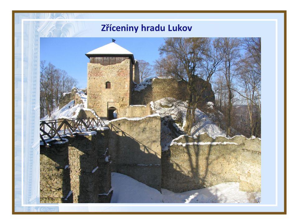 Zříceniny hradu Lukov
