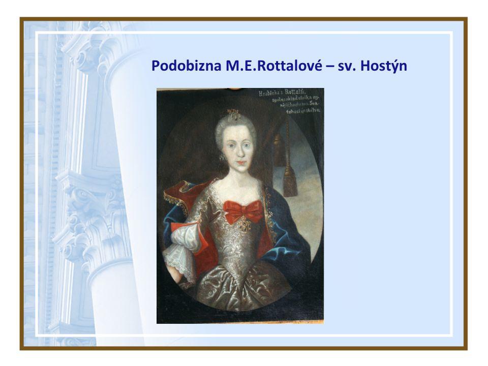 Podobizna M.E.Rottalové – sv. Hostýn