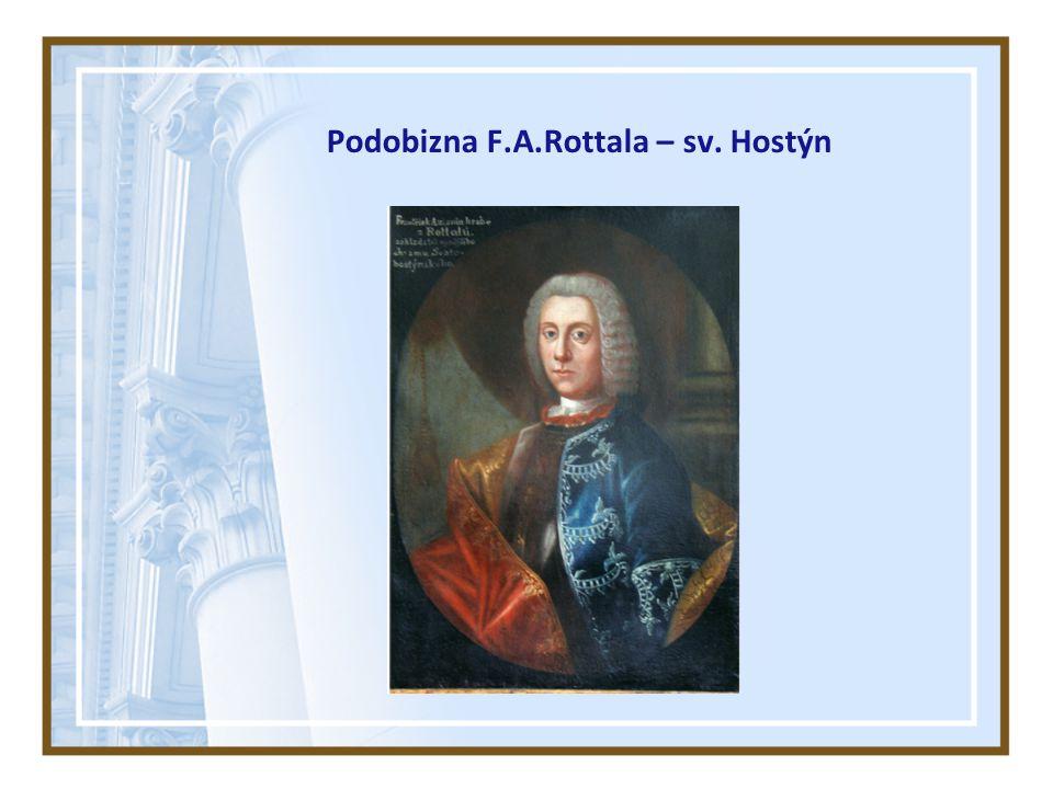Podobizna F.A.Rottala – sv. Hostýn