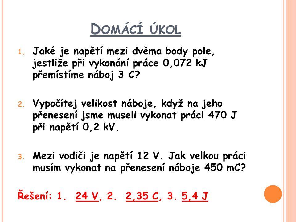 D OMÁCÍ ÚKOL 1.