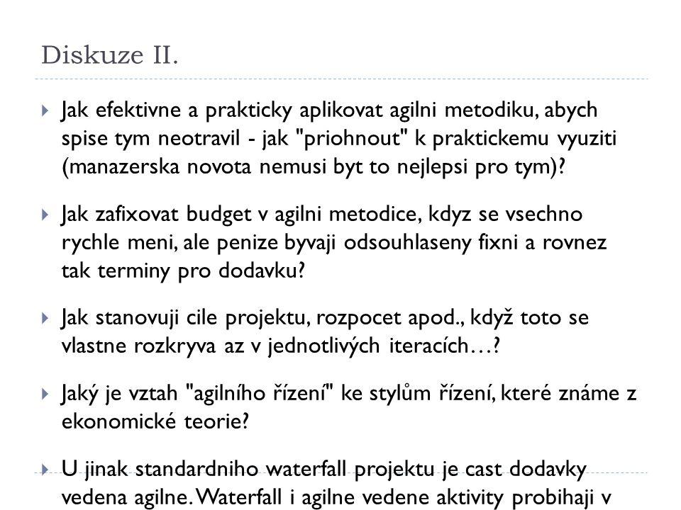 Diskuze II.