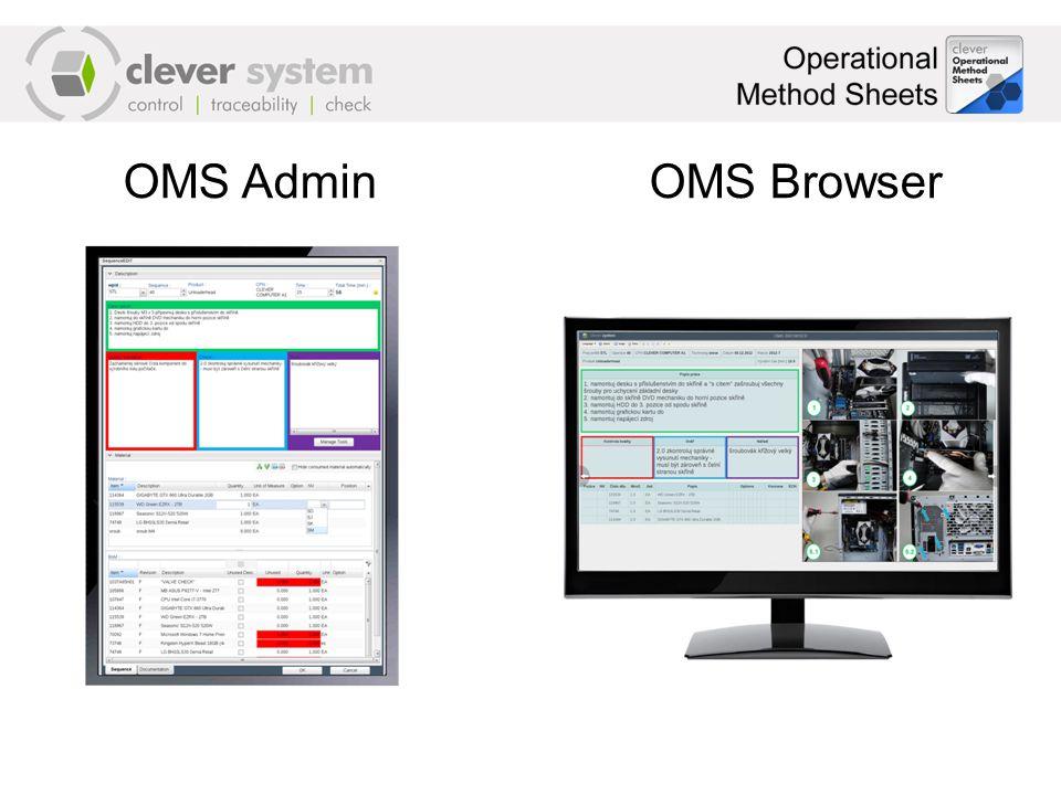 OMS Admin OMS Browser