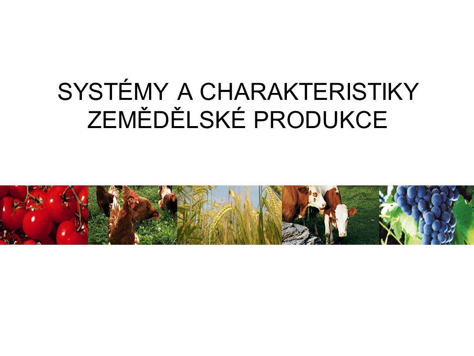 metody šetrné k životnímu prostředí kvalita a struktura půdy, čistota vod snaha o celkovou harmonii agroekosystému podpora biodiverzity upřednostnění obnovitelných zdrojů energie recyklace surovin, uzavřené systémy EKOLOGICKÉ HOSPODAŘENÍ