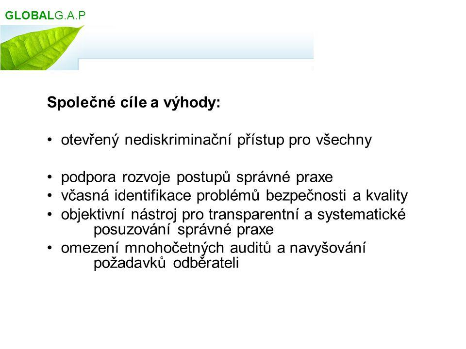 GMP, GHP, GDP, GAP HACCP ISO ISO 22000 GLOBALGAP Co je GLOBALGAP :