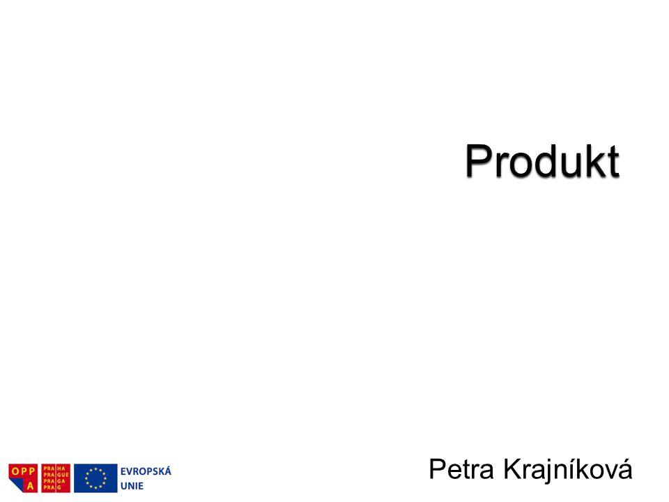 Produkt jako součást marketingového mixu.–Definice produktu.