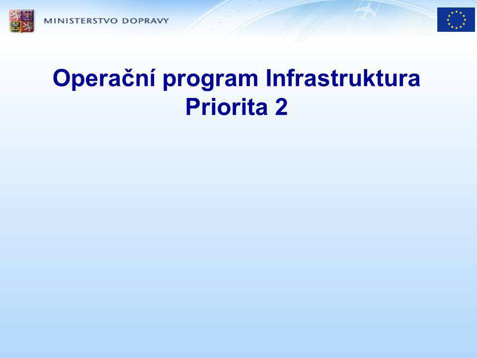 Operační program Infrastruktura Priorita 2