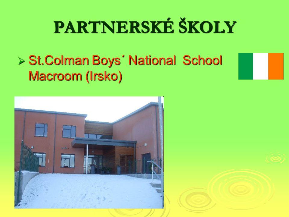 PARTNERSKÉ ŠKOLY  St.Colman Boys´ National School Macroom (Irsko)