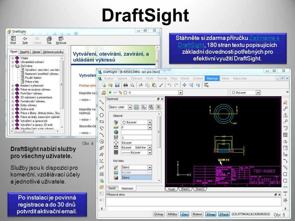 DraftSight DraftSight nabízí služby pro všechny uživatele.