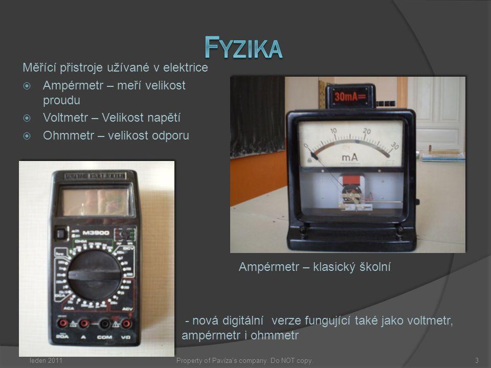 Měřící přistroje užívané v elektrice  Ampérmetr – meří velikost proudu  Voltmetr – Velikost napětí  Ohmmetr – velikost odporu Ampérmetr – klasický