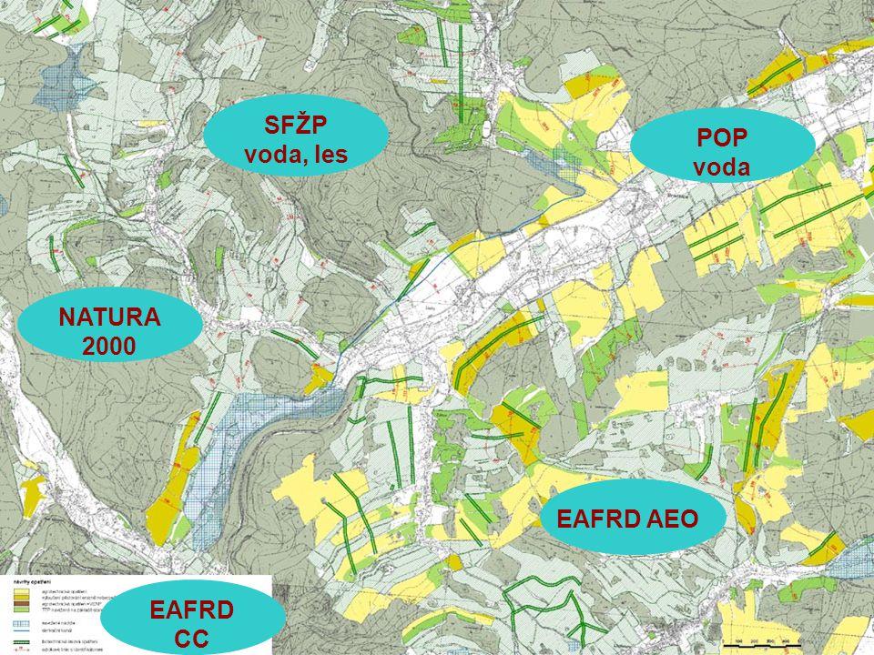 ILUP - POMORAVÍ Cross- Compliance NATURA 2000 Plán oblasti povodí EAFRD lesní oblast EAFRD KPÚ EAFRD AEO Výstupy Projektu ILUP - Pomraví Návrhy na změnu hospodaření v zemědělských podnicích Územně analytické podklady Návrhy na změnu hospodaření v lesích, zalesňování, pěstovaní rychlerostoucích dřevin Návrhy retenčních nádrží, poldrů a protierozních opatření na půdě Podklady pro projekty a realizační výstupy Indikátory udržitelného rozvoje 2002 - 2006 2007 - 2013