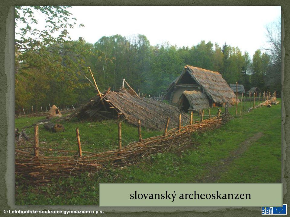 © Letohradské soukromé gymnázium o.p.s. slovanský archeoskanzen
