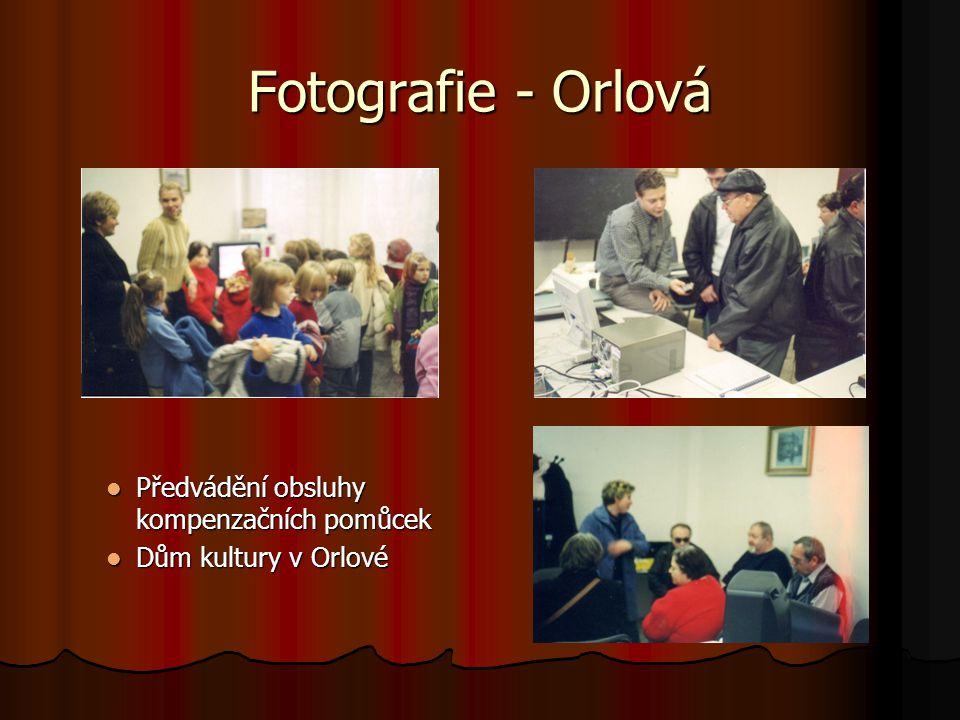 Fotografie - Orlová Předvádění obsluhy kompenzačních pomůcek Dům kultury v Orlové