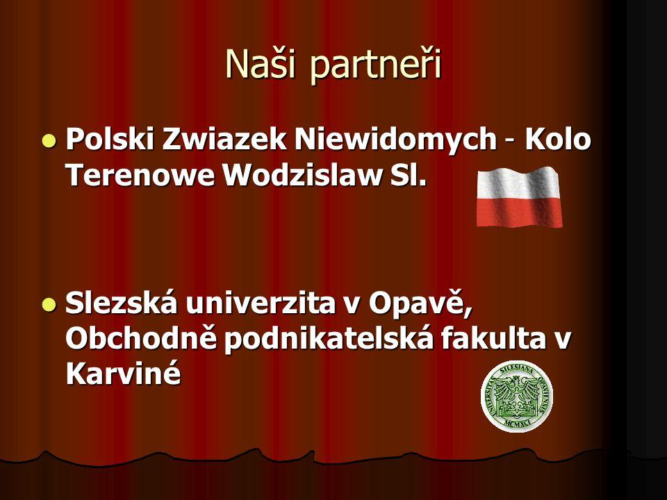 Spolupracující organizace OKAMŽIK, občanské sdružení OKAMŽIK, občanské sdružení Tyflo Vysočina Jihlava, o.p.s.