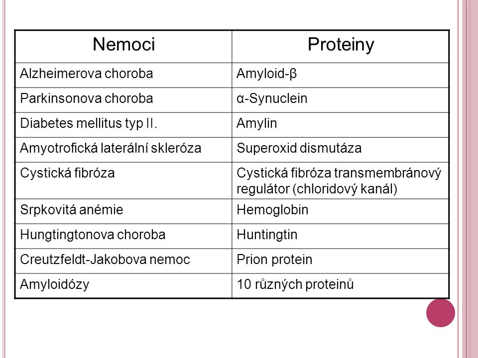 Molekulární model struktury: PrP C PrP Sc Převažuje α-helix (3x)β-skládaný list (40%), α-helix (30%)