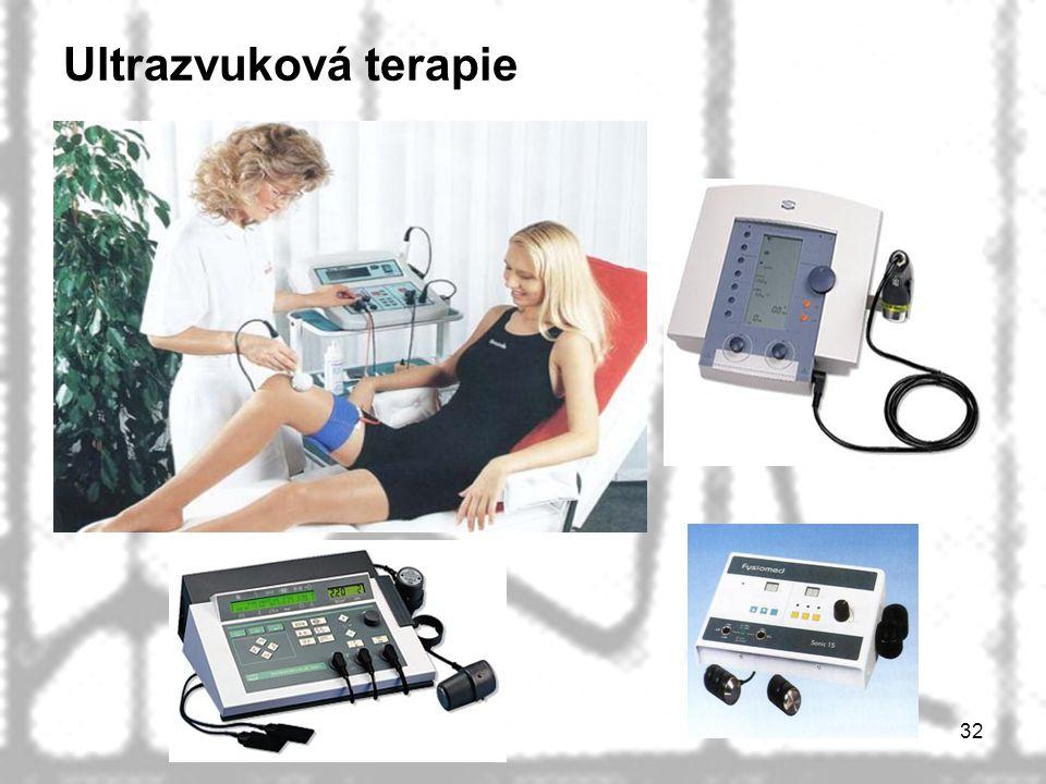 32 Ultrazvuková terapie