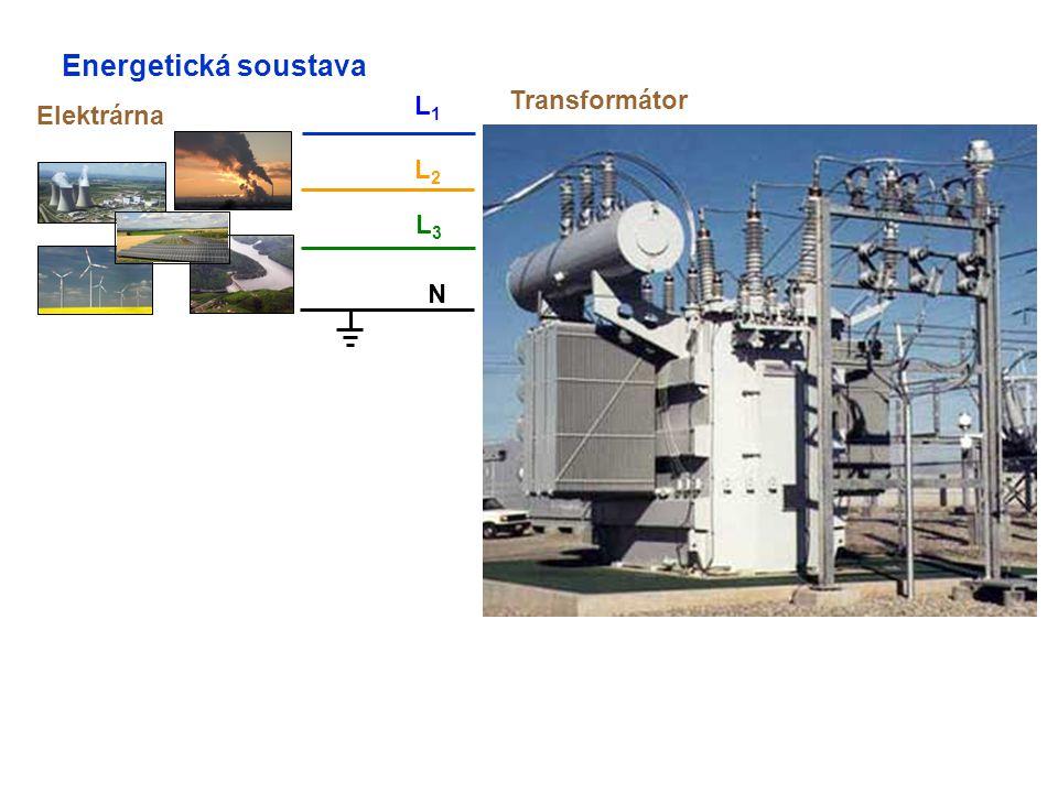 Energetická soustava Elektrárna N L1L1 L2L2 L3L3 Transformátor