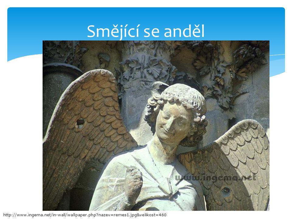 Smějící se anděl http://www.ingema.net/in-wall/wallpaper.php?nazev=remes1.jpg&velikost=460