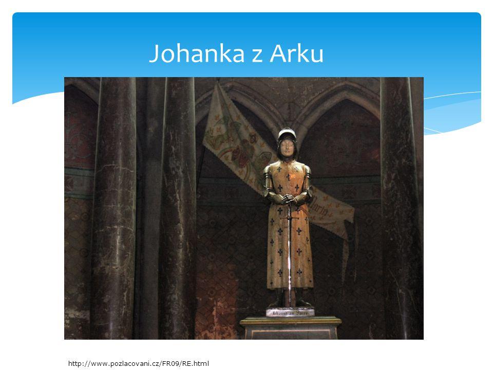 Johanka z Arku http://www.pozlacovani.cz/FR09/RE.html