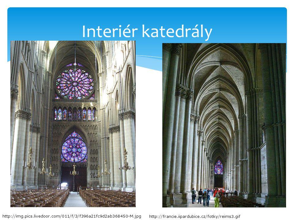 Interiér katedrály http://img.pics.livedoor.com/011/f/3/f396a21fc9d2ab368450-M.jpg http://francie.iipardubice.cz/fotky/reims3.gif