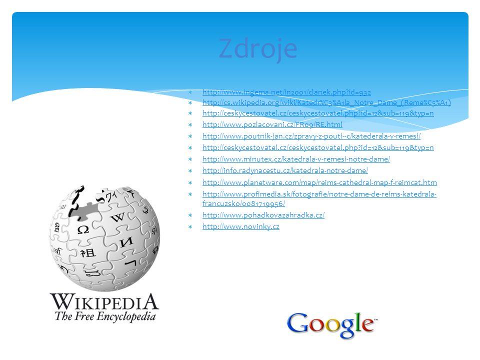  http://www.ingema.net/in2001/clanek.php?id=932 http://www.ingema.net/in2001/clanek.php?id=932  http://cs.wikipedia.org/wiki/Katedr%C3%A1la_Notre_Da