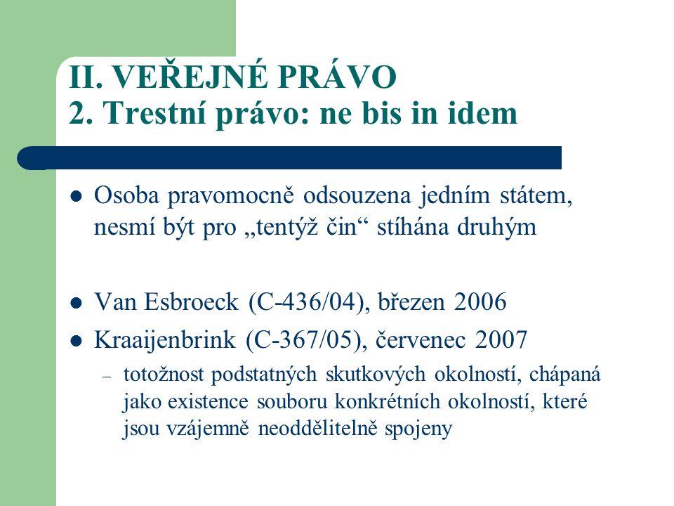 II.VEŘEJNÉ PRÁVO 2.