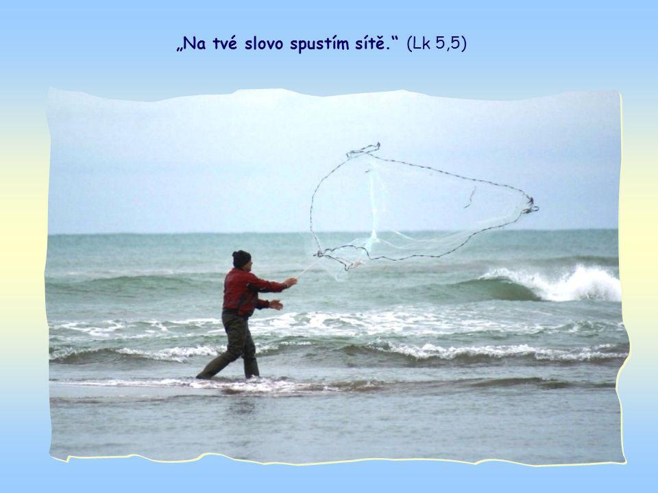 Takto zní vyprávění o zázračném rybolovu, který je symbolem budoucího poslání apoštolů.