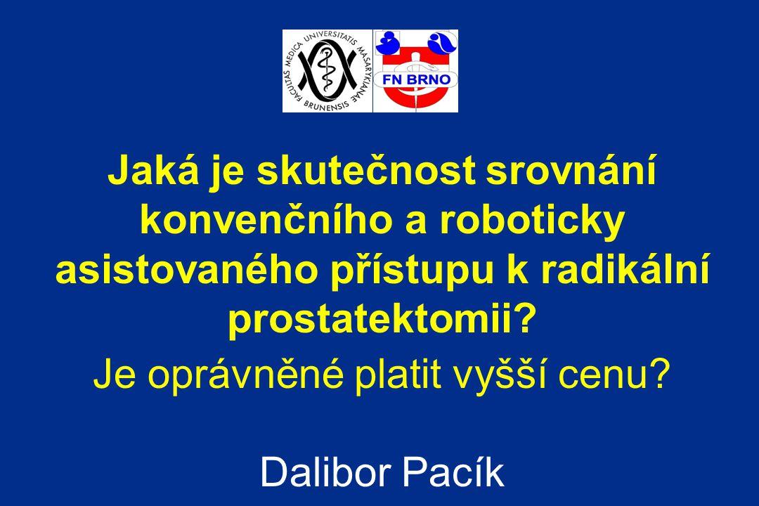 Karcinom prostaty druhá nejčastější příčina úmrtí muže na zhoubný nádor v ČR neexistuje primární prevence – prevence sekundární význam radikální operace – léčby s kurativním záměrem – EMB NEJM (Holmberg et al)
