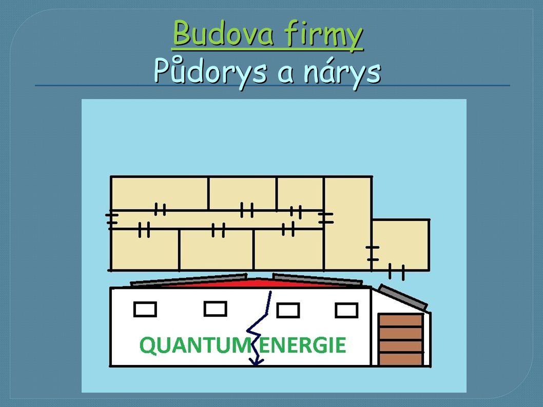 Budova firmy Půdorys a nárys