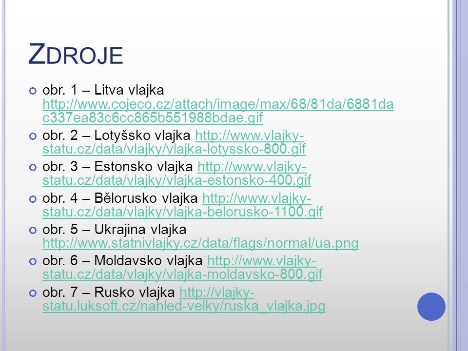 Z DROJE obr. 1 – Litva vlajka http://www.cojeco.cz/attach/image/max/68/81da/6881da c337ea83c6cc865b551988bdae.gif http://www.cojeco.cz/attach/image/ma