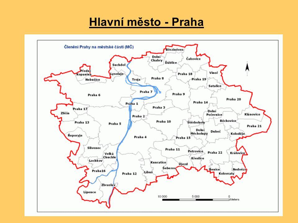 Hlavní město - Praha