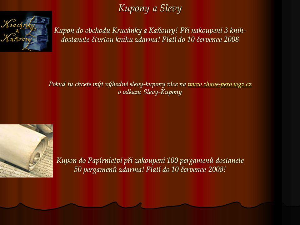 Kupony a Slevy Kupon do obchodu Krucánky a Kaňoury.