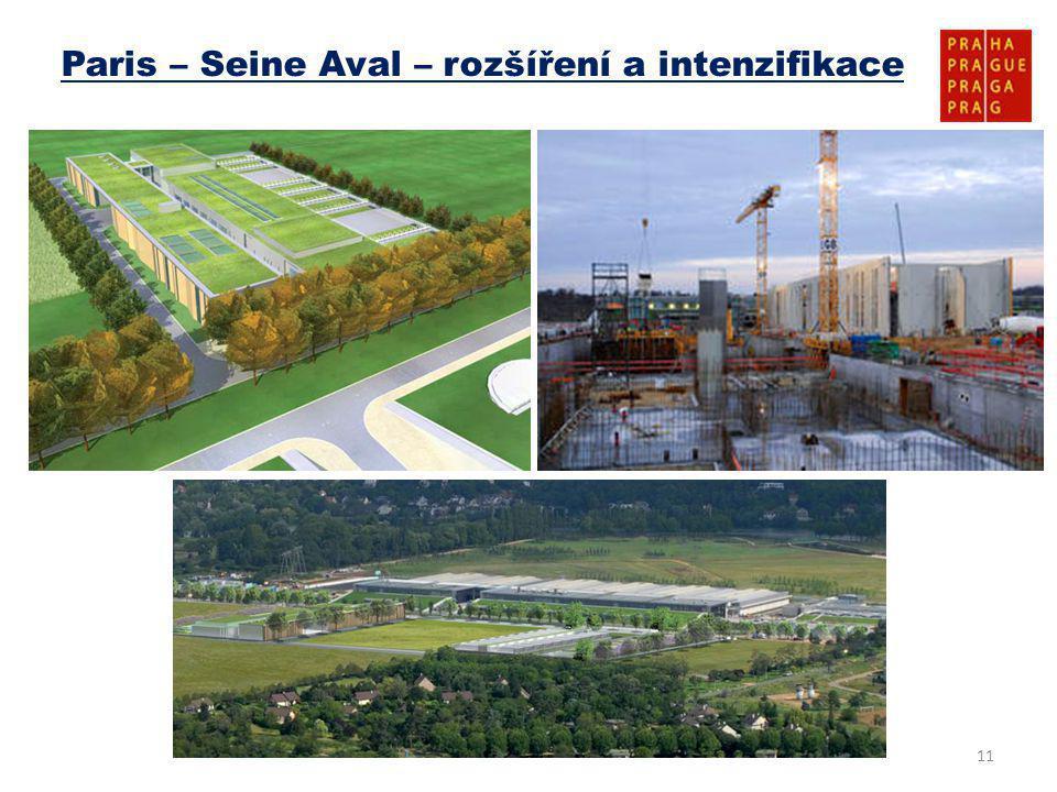 11 Paris – Seine Aval – rozšíření a intenzifikace