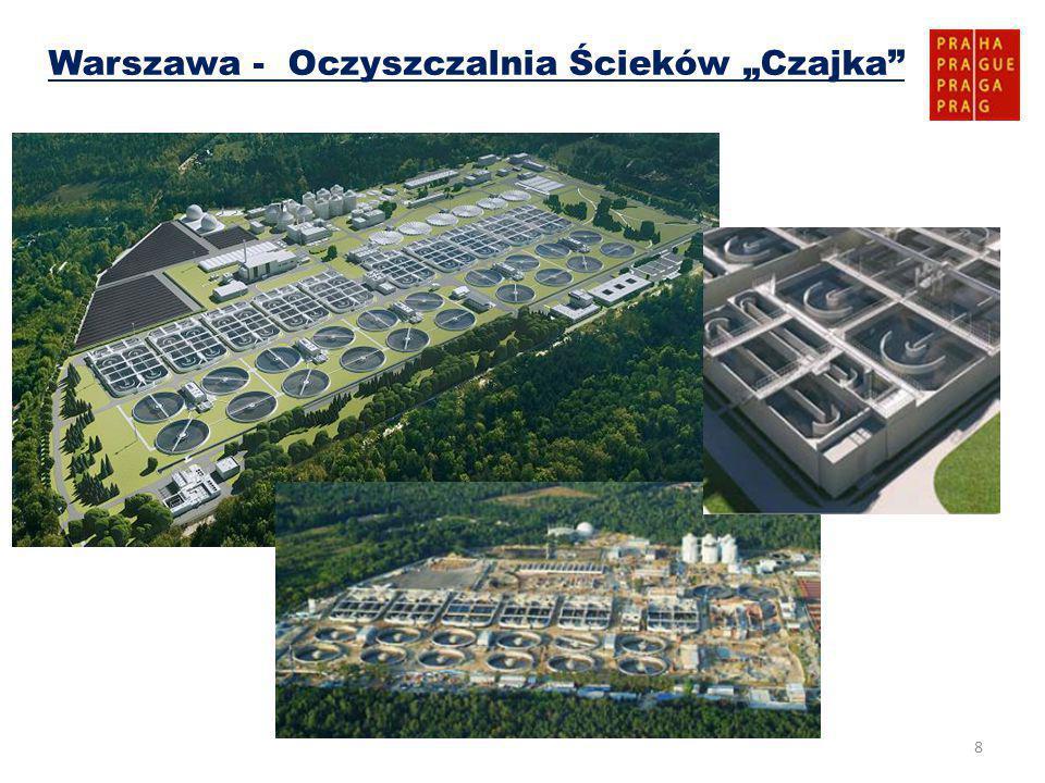 """8 Warszawa - Oczyszczalnia Ścieków """"Czajka"""
