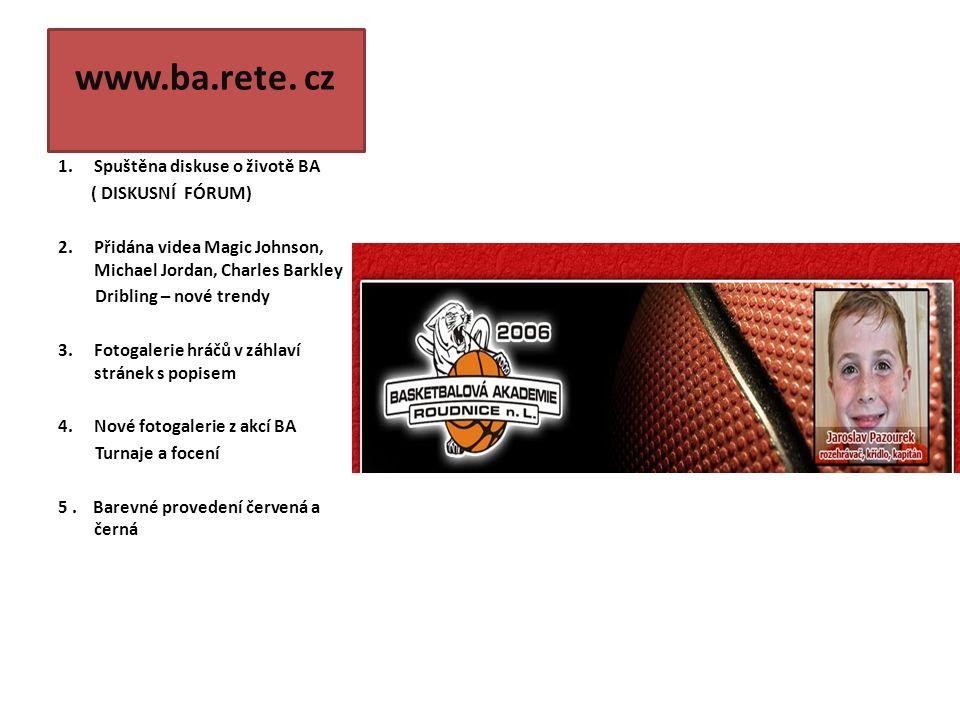 www. ba.rete.cz logo BA 2006´