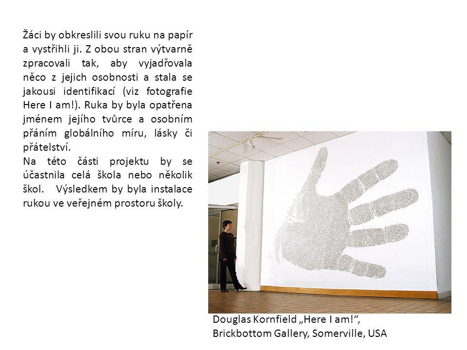 Žáci by obkreslili svou ruku na papír a vystřihli ji. Z obou stran výtvarně zpracovali tak, aby vyjadřovala něco z jejich osobnosti a stala se jakousi