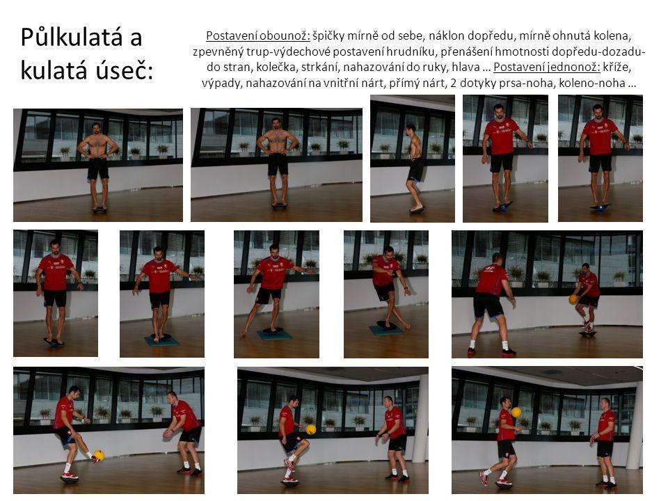 Kokosy: Špičky vždy nakloněné dolů, koleno přední nohy pustit při došlapu hodně dopředu (těžnice kolene je před špičkou) až v této poloze chytat rovnováho, chodit pomalu, vzpřímený trup.