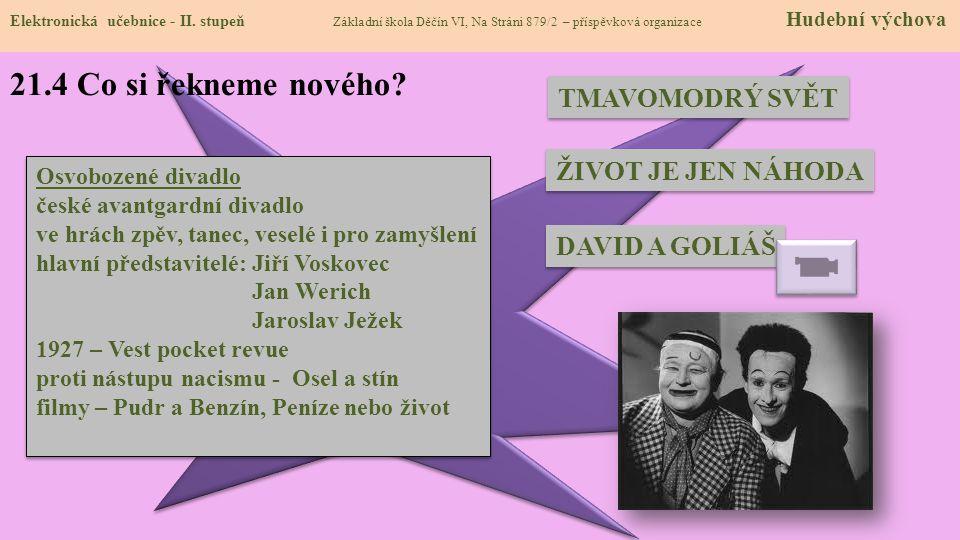 21.5 Procvičení a příklady Elektronická učebnice - II.
